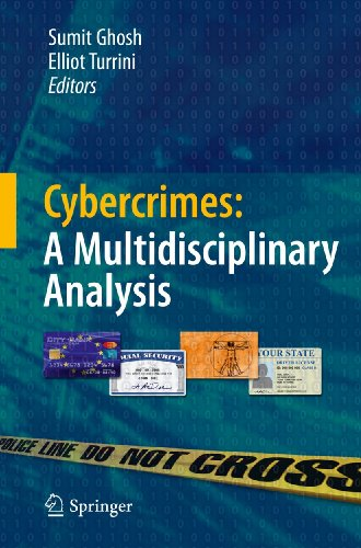 9783642135460: Cybercrimes: A Multidisciplinary Analysis