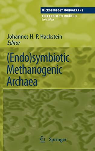 Endo)symbiotic Methanogenic Archaea: Johannes H. P. Hackstein