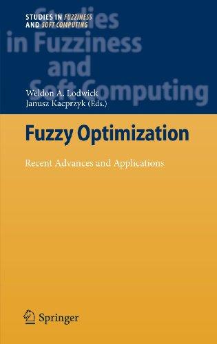 Fuzzy Optimization: Weldon A. Lodwick