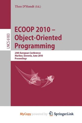 9783642141089: Ecoop 2010 -- Object-Oriented Programming
