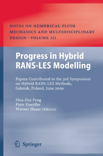 Progress in Hybrid RANS-LES Modelling: Papers Contributed to the 3rd Symposium on Hybrid RANS-LES ...
