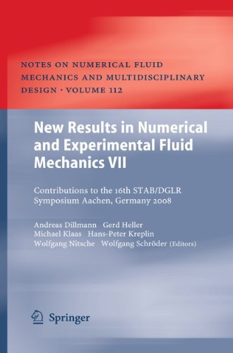 New Results in Numerical and Experimental Fluid Mechanics 7: Andreas Dillmann
