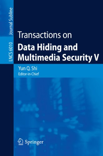 9783642142970: Transactions on Data Hiding and Multimedia Security V (Lecture Notes in Computer Science)