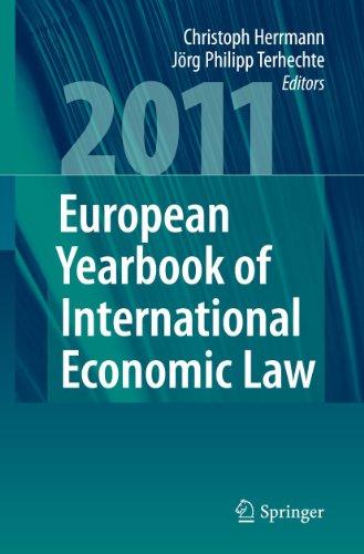 European Yearbook of International Economic Law 2011 (Hardcover): Herrmann