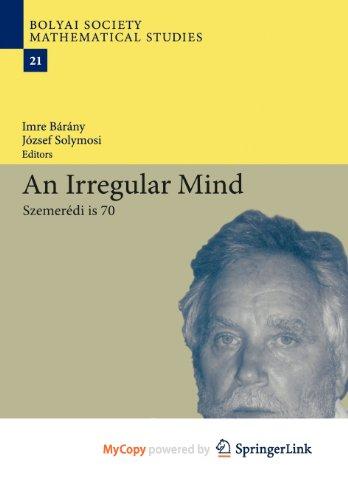 9783642144455: An Irregular Mind: Szemerédi is 70