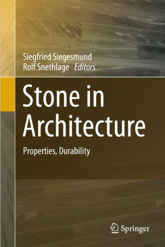 9783642144745: Stone in Architecture: Properties, Durability