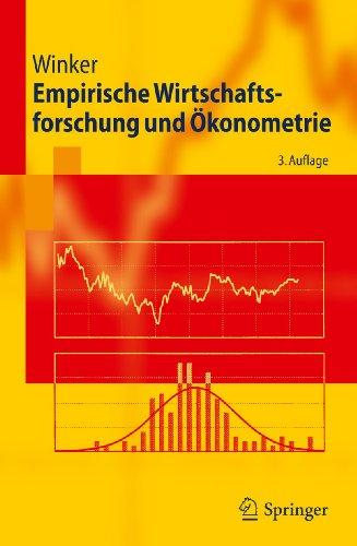 9783642145063: Empirische Wirtschaftsforschung Und Okonometrie (Springer-Lehrbuch)