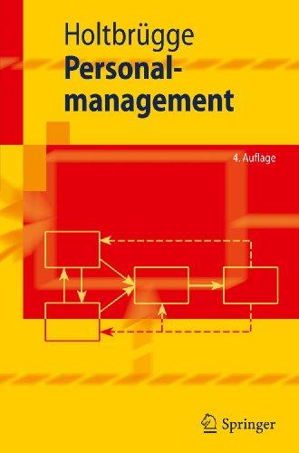 9783642145797: Personalmanagement (Springer-Lehrbuch) (German Edition)