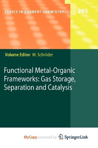 9783642146145: Functional Metal-Organic Frameworks: Gas Storage, Separation and Catalysis