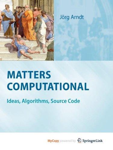 9783642147654: Matters Computational