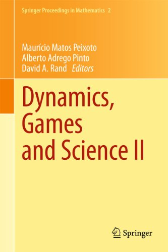9783642147876: Dynamics, Games and Science II: DYNA 2008, in Honor of Maurício Peixoto and David Rand, University of Minho, Braga, Portugal, September 8-12, 2008 (Springer Proceedings in Mathematics)
