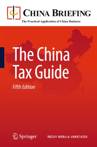 The China Tax Guide (China Briefing): Springer