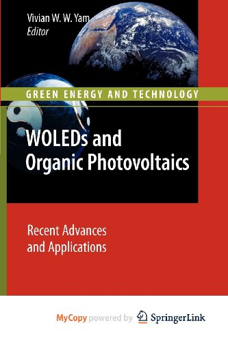 9783642149368: WOLEDs and Organic Photovoltaics