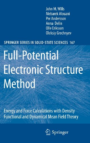 Full-Potential Electronic Structure Method: Energy and Force Calculations with Density Functional ...