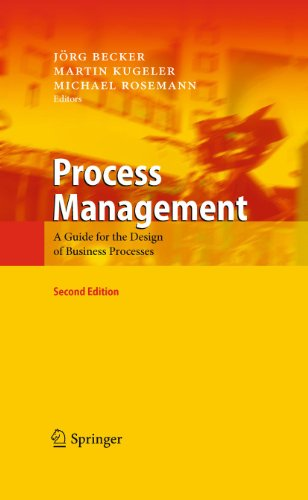 9783642151897: Process Management: A Guide for the Design of Business Processes