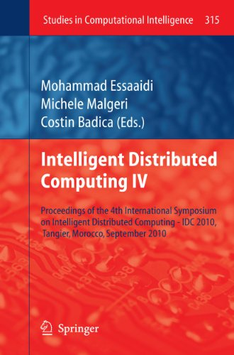 Intelligent Distributed Computing IV: Mohammad Essaaidi