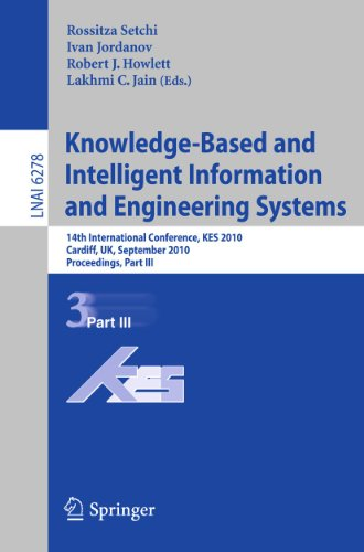 Knowledge-Based and Intelligent Information and Engineering Systems : 14th International Conference, KES 2010, Cardiff, UK, september 8-10, 2010, Proceedings, Part III - Rossitza Setchi
