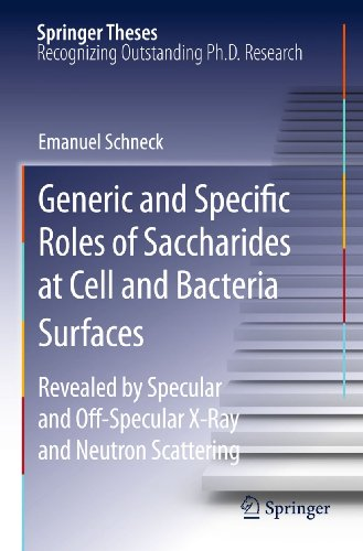 Generic and Specific Roles of Saccharides at Cell and Bacteria Surfaces: Revealed by Specular and ...