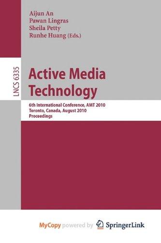 9783642154713: Active Media Technology
