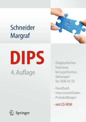 9783642155284: DIPS: Diagnostisches Interview bei psychischen Störungen