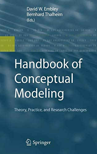 9783642158643: Handbook of Conceptual Modeling: Theory, Practice, and Research Challenges