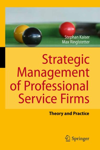 9783642160622: Strategic Management of Professional Service Firms: Theory and Practice