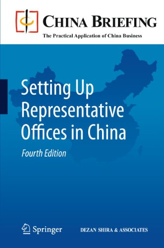 9783642160707: Setting Up Representative Offices in China (China Briefing)