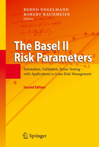 9783642161131: The Basel II Risk Parameters: Estimation, Validation, Stress Testing - With Applications to Loan Risk Management