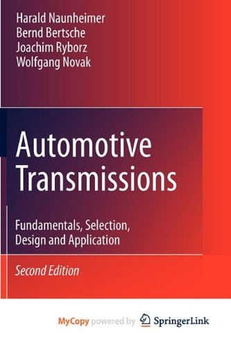 9783642162152: Automotive Transmissions: Fundamentals, Selection, Design and Application