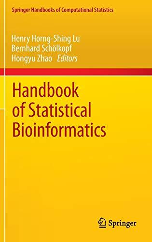 Handbook of Statistical Bioinformatics: Henry Horng-Shing Lu