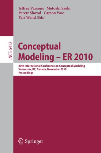 Conceptual Modeling ? ER 2010: 29th International Conference on Conceptual Modeling, Vancouver, BC,...