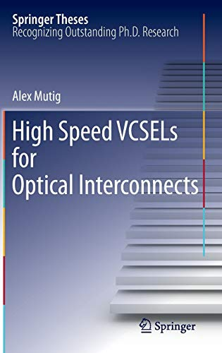 9783642165696: High Speed VCSELs for Optical Interconnects (Springer Theses)