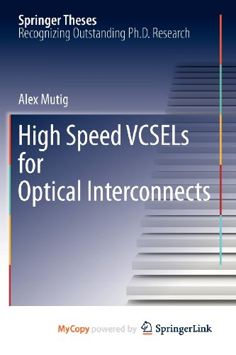 9783642165719: High Speed VCSELs for Optical Interconnects