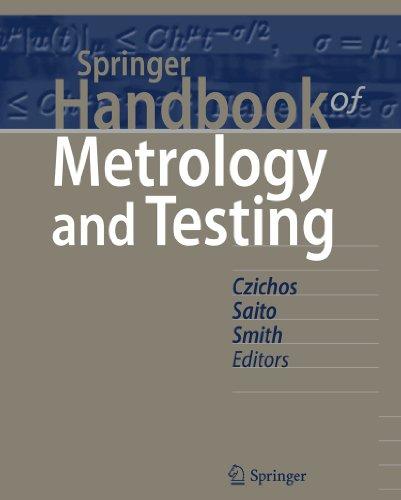 Springer Handbook of Metrology and Testing.: Czichos, Horst; Saito,