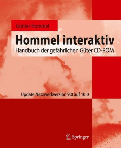 9783642166624: Hommel interaktiv: Handbuch der gef�hrlichen G�ter CD-ROM. Update Netzwerkversion 9.0 auf 10.0 (Handbuch Der Gefahrlichen Guter / Hommel Interaktiv CD-ROM)