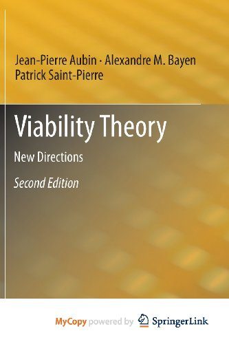 9783642166853: Viability Theory: New Directions