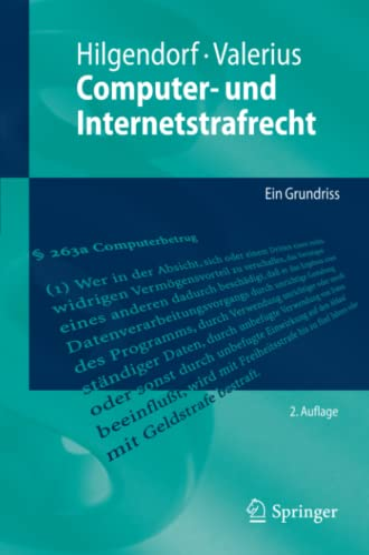 9783642168840: Computer- und Internetstrafrecht: Ein Grundriss (Springer-Lehrbuch) (German Edition)