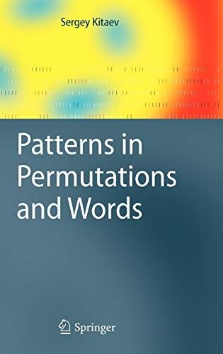 9783642173325: Patterns in Permutations and Words (Monographs in Theoretical Computer Science. An EATCS Series)