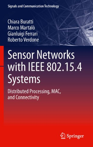 9783642174896: Sensor Networks with IEEE 802.15.4 Systems: Distributed Processing, MAC, and Connectivity (Signals and Communication Technology)