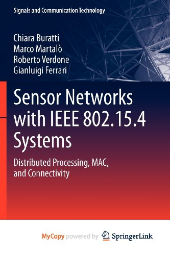9783642174919: Sensor Networks with IEEE 802.15.4 Systems