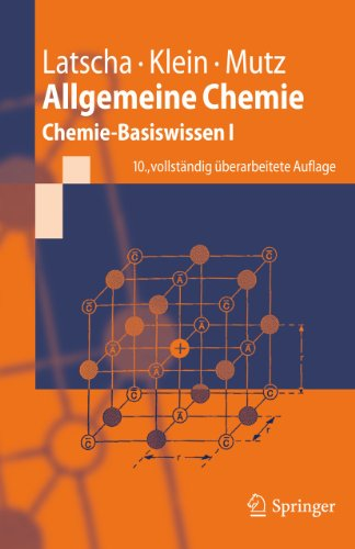 9783642175220: Allgemeine Chemie: Chemie-Basiswissen I (Springer-Lehrbuch) (German Edition)