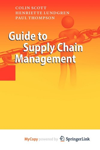 9783642176777: Guide to Supply Chain Management