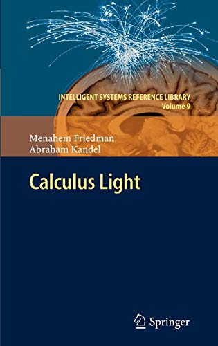 9783642178474: Calculus Light (Intelligent Systems Reference Library)