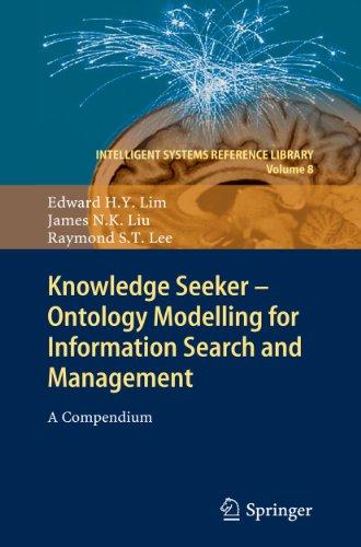 Knowledge Seeker - Ontology Modelling for Information: Edward H. Y.