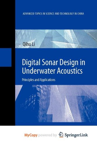 9783642182914: Digital Sonar Design in Underwater Acoustics: Principles and Applications