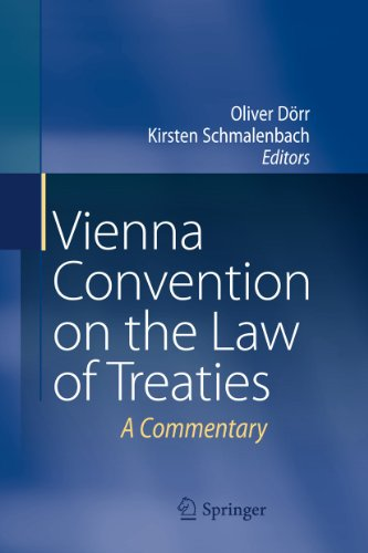 Vienna Convention on the Law of Treaties: Oliver Dörr