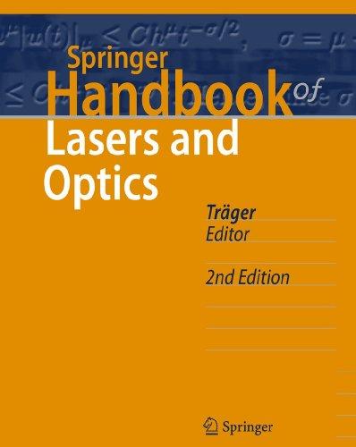 9783642194085: Springer Handbook of Lasers and Optics
