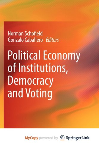9783642195204: Political Economy of Institutions, Democracy and Voting