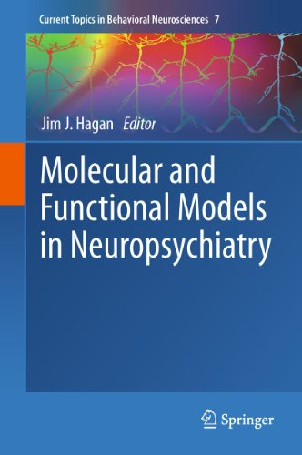 9783642197024: Molecular and Functional Models in Neuropsychiatry (Current Topics in Behavioral Neurosciences)
