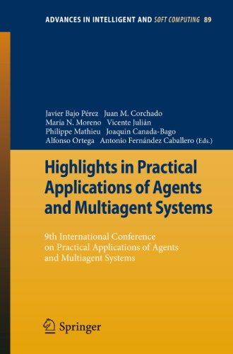 Highlights in Practical Applications of Agents and Multiagent Systems: Javier Bajo Pérez